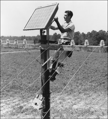 Early Solar Panels